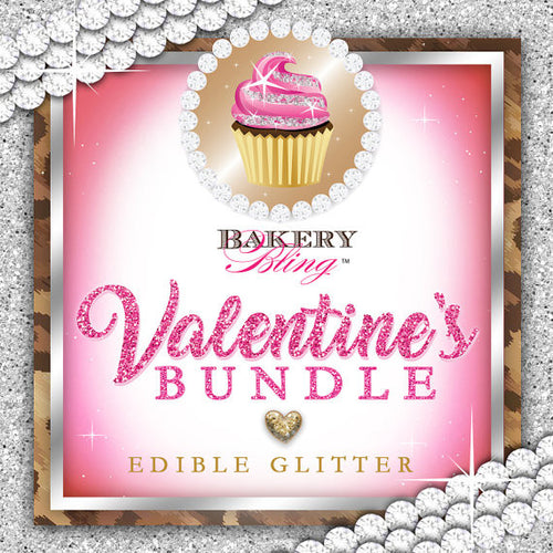 Valentine's Day Bundle - Bakery Bling™ Edible Glittery Sugar™