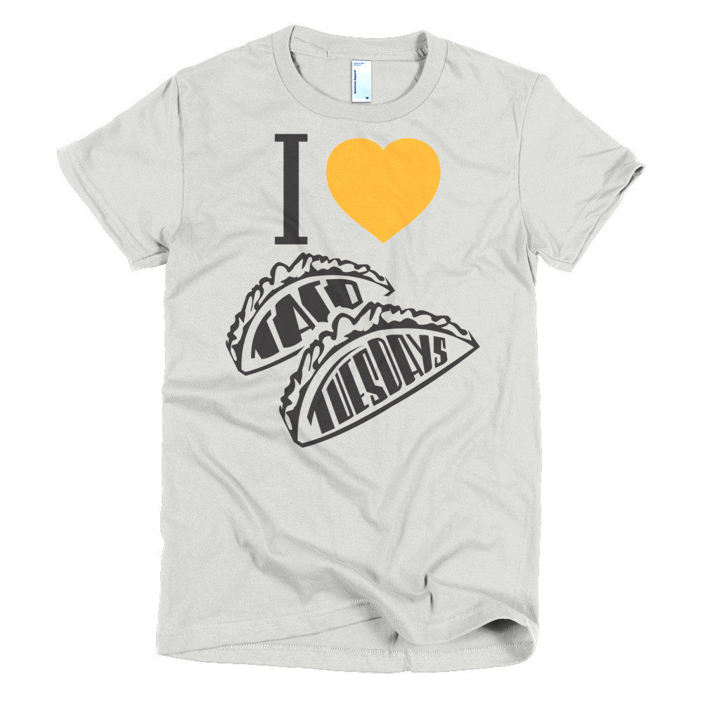 Women's t-shirt  -- I loVe Taco Tuesdays