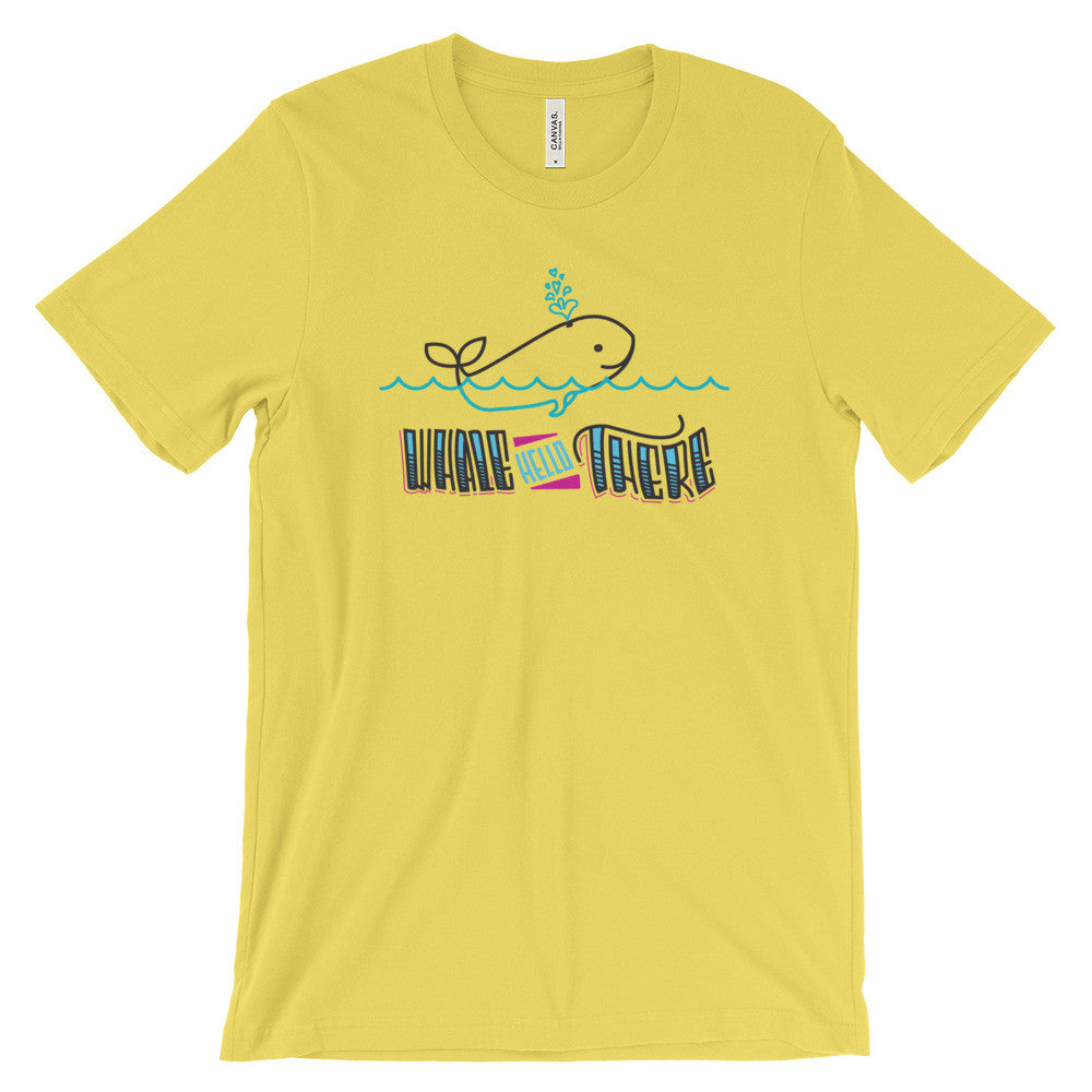 Women's t-shirt   -- Whale Hello There