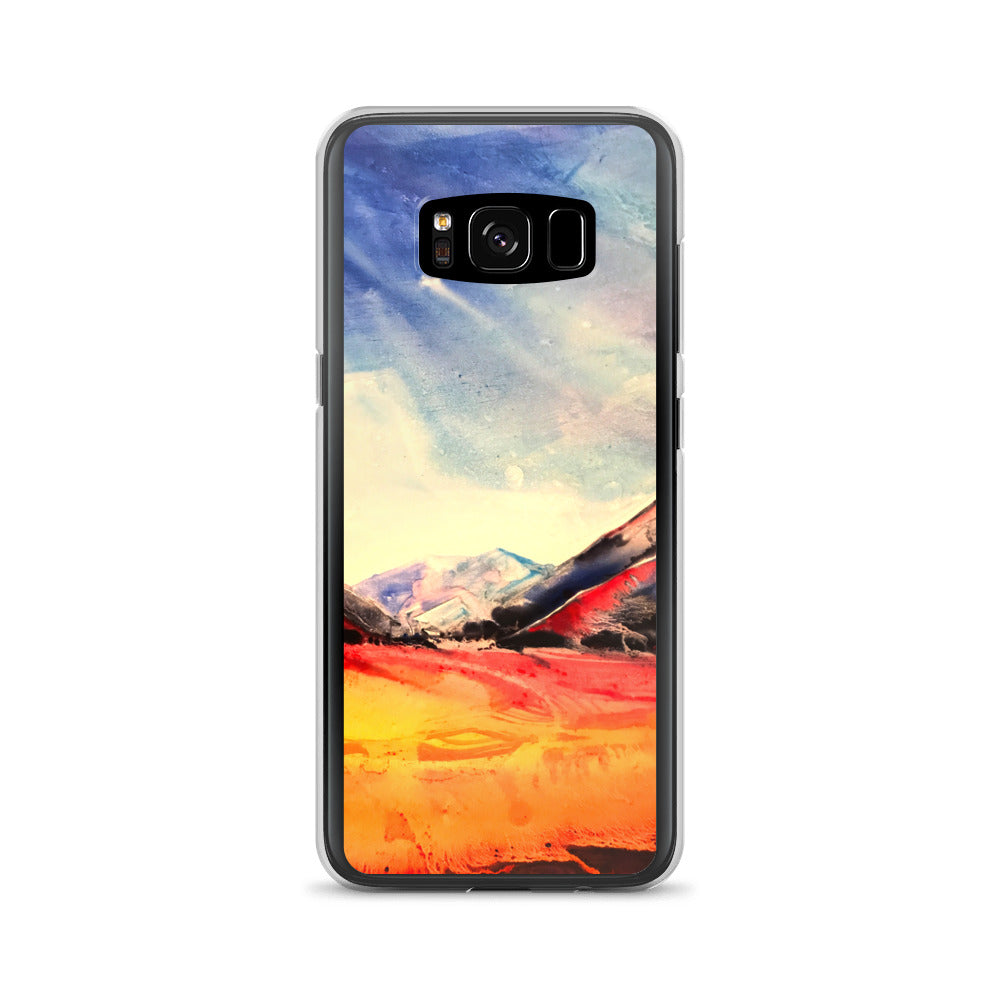 Water Color Landscape - Samsung Case