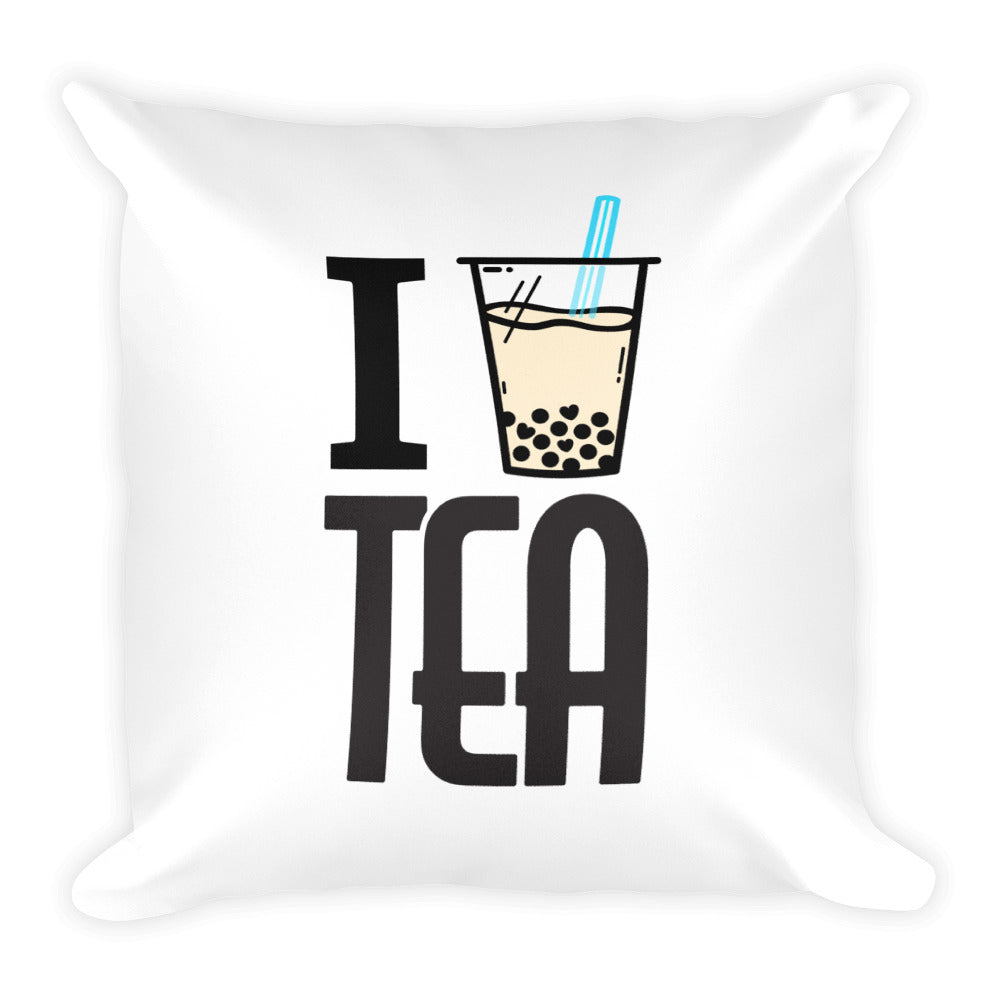 Square Pillow - Boba Tea