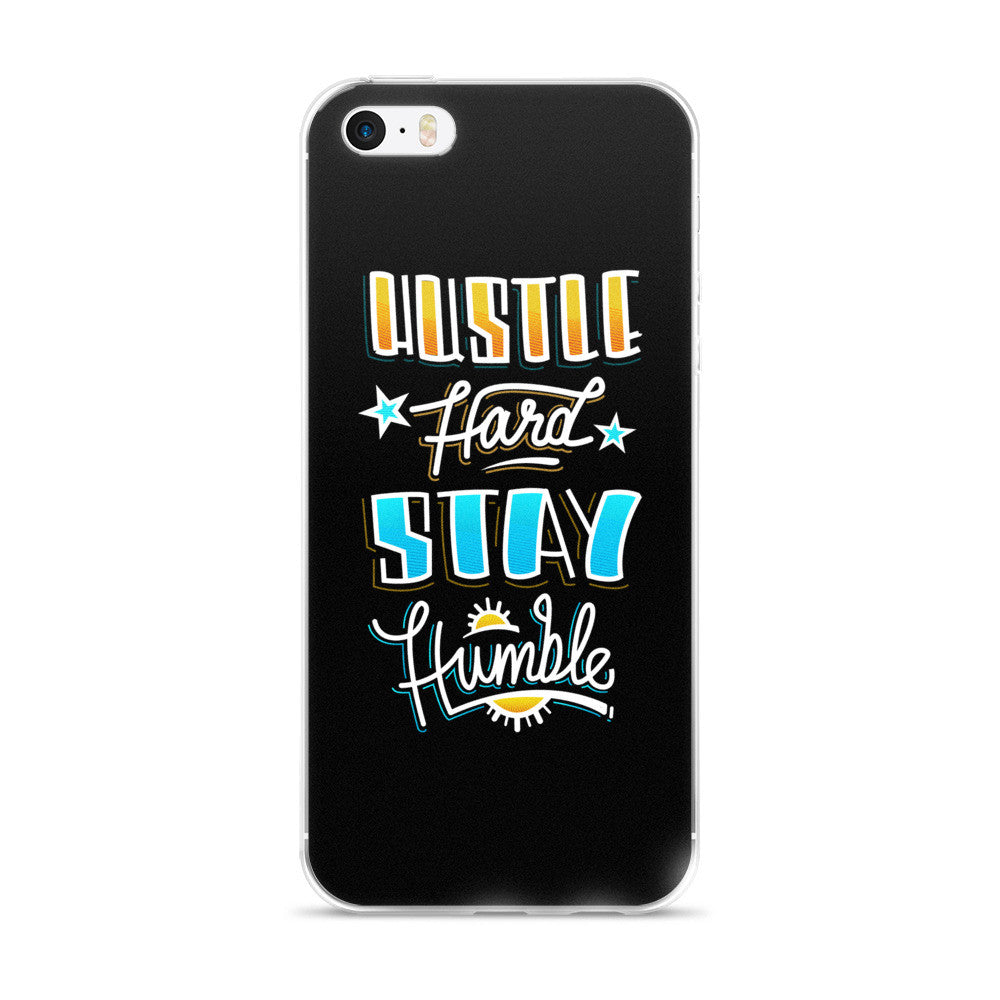 HUSTLE HARD - iPhone 5/5s/Se, 6/6s, 6/6s Plus Case