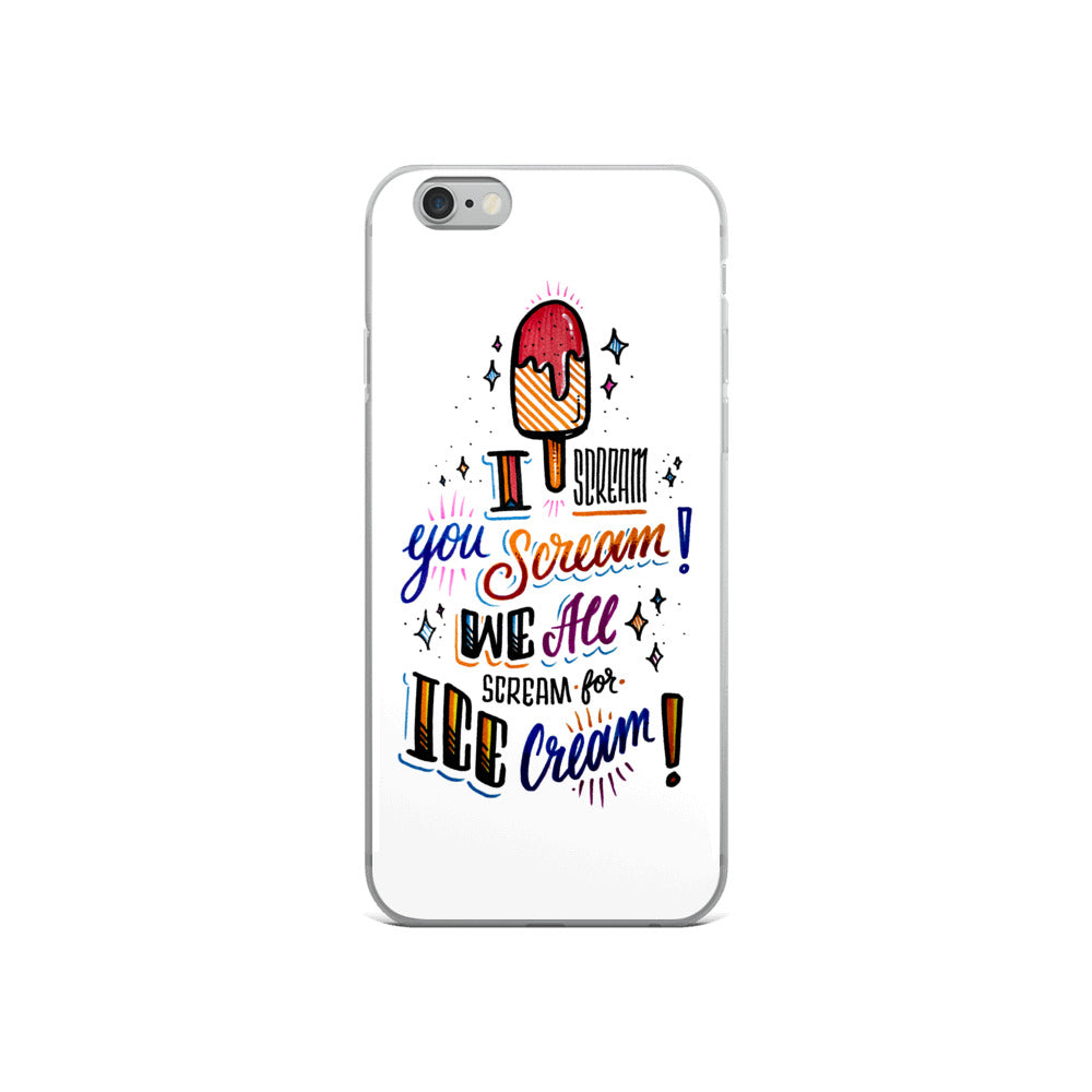 iPhone Case - I scream for ice-cream
