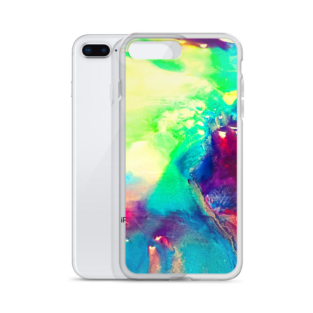 Water color abstract - iPhone Case
