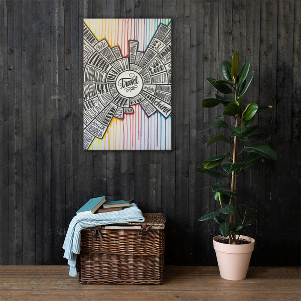 Travel - Canvas Wall Art