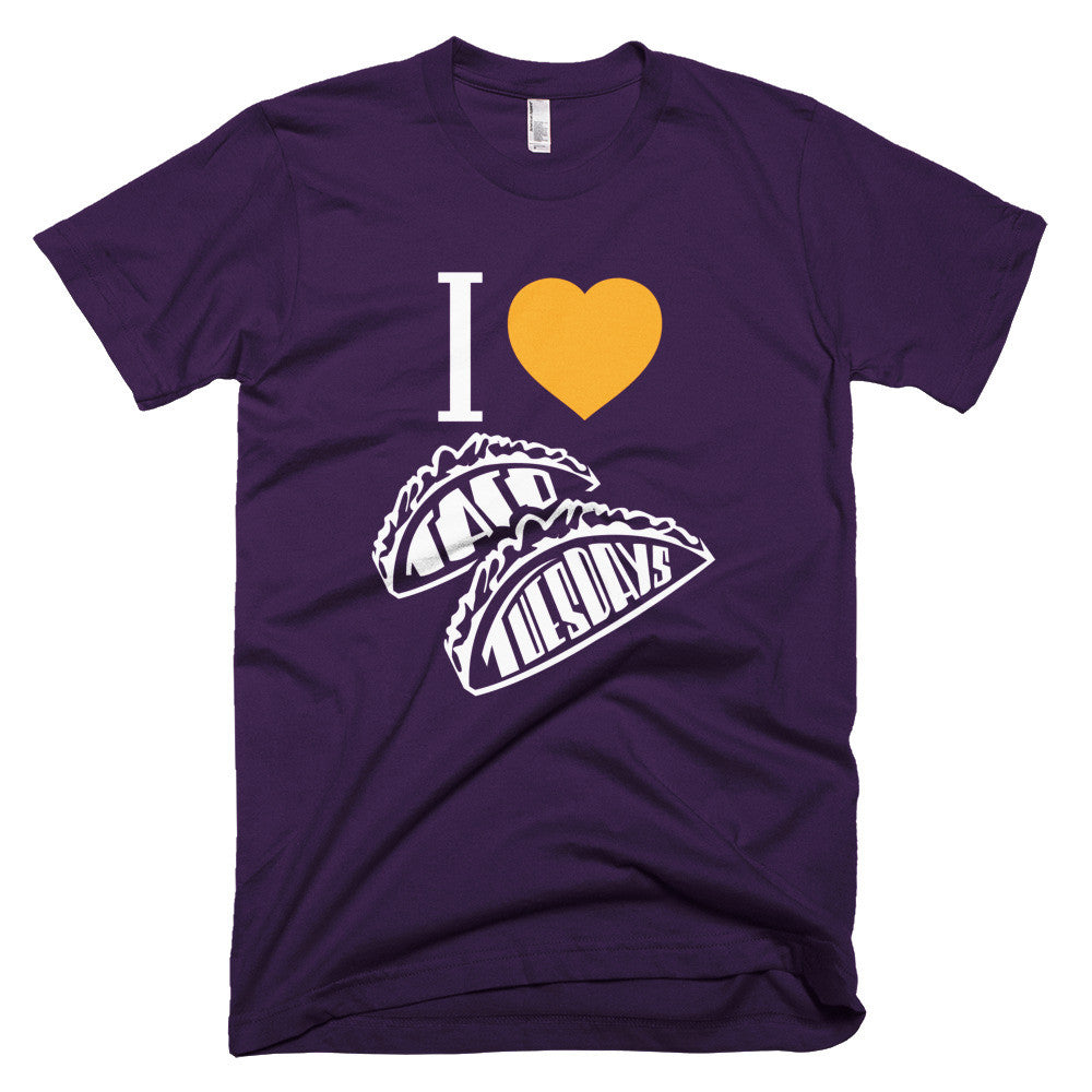 Men's t-shirt  -- I loVe Taco Tuesdays