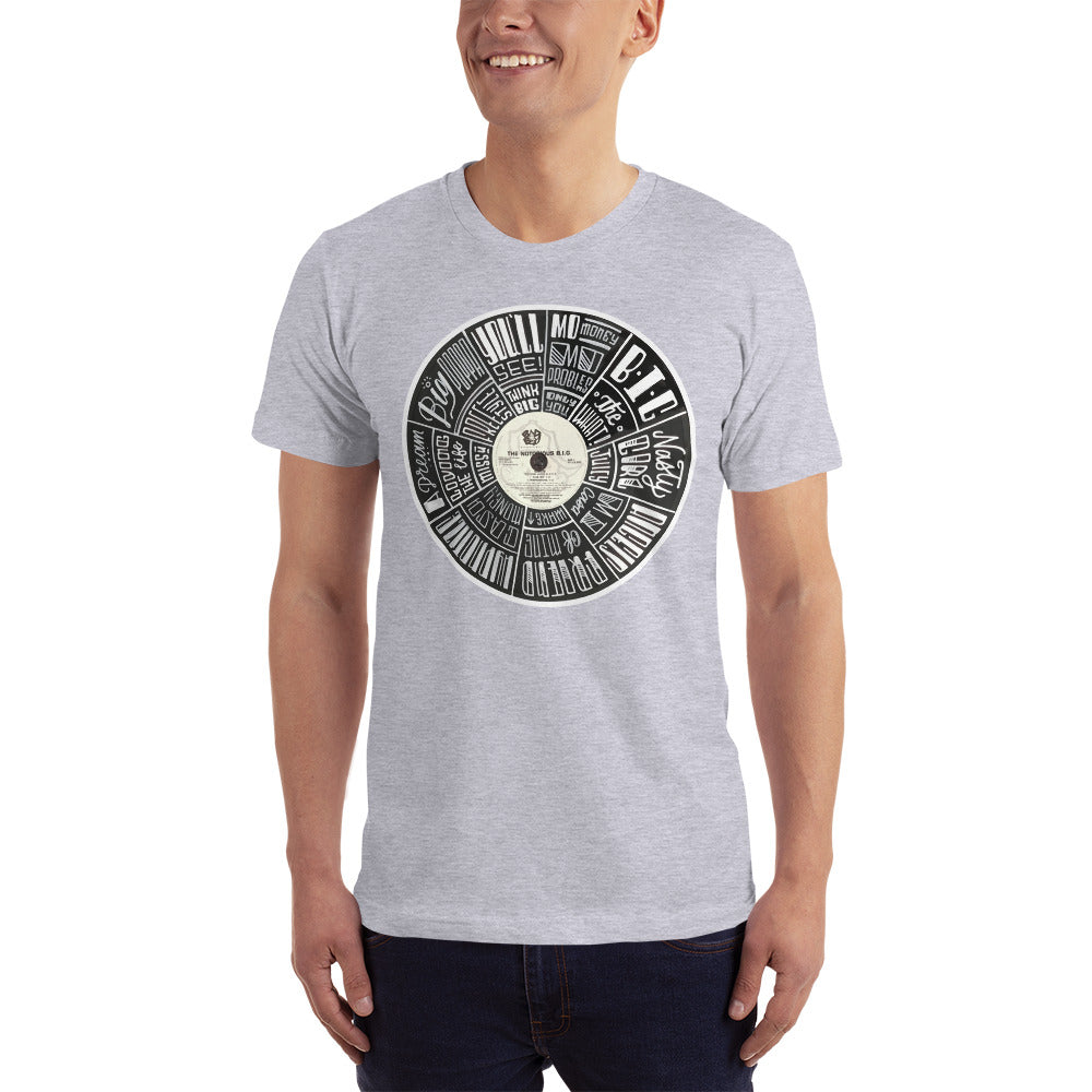 Notorious BIG record - Mens T-Shirt