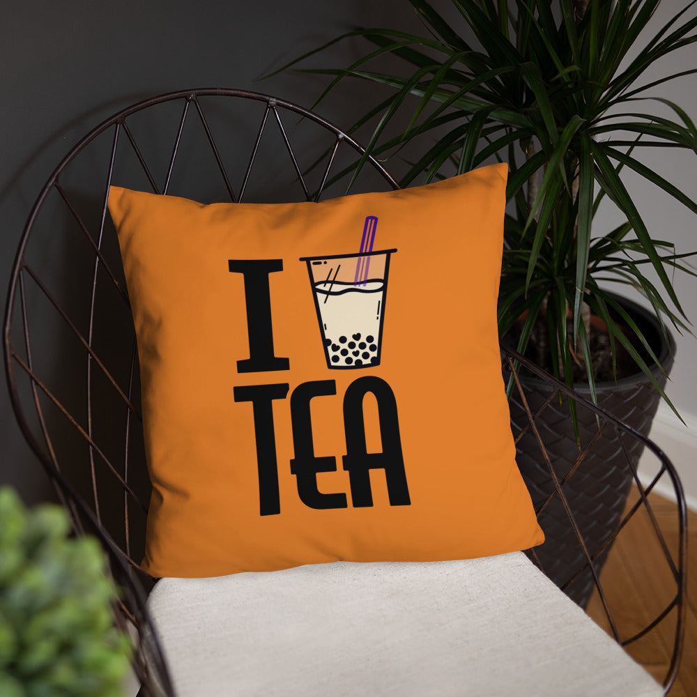 I Love Boba Tea - Basic Pillow
