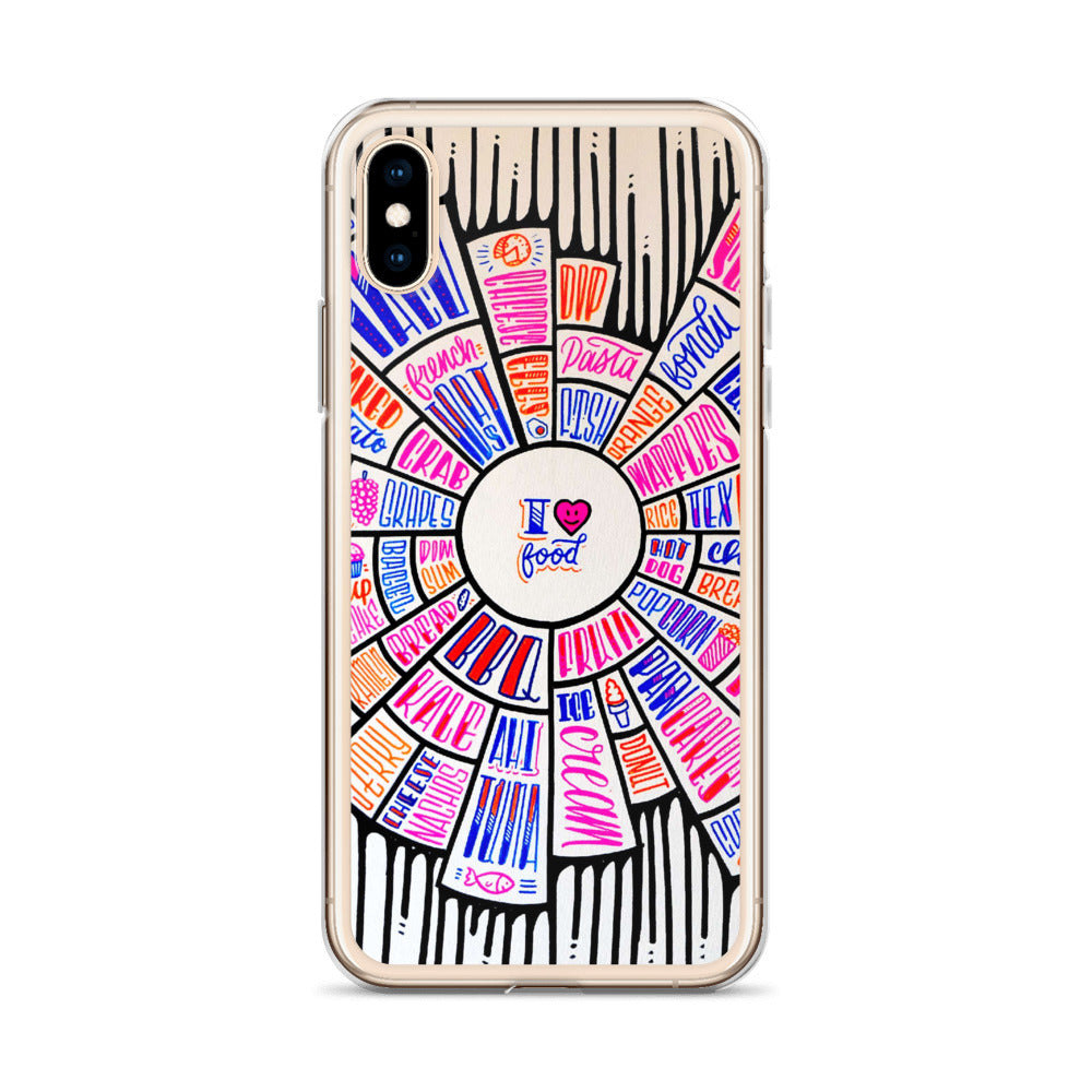 I love food - iPhone Case