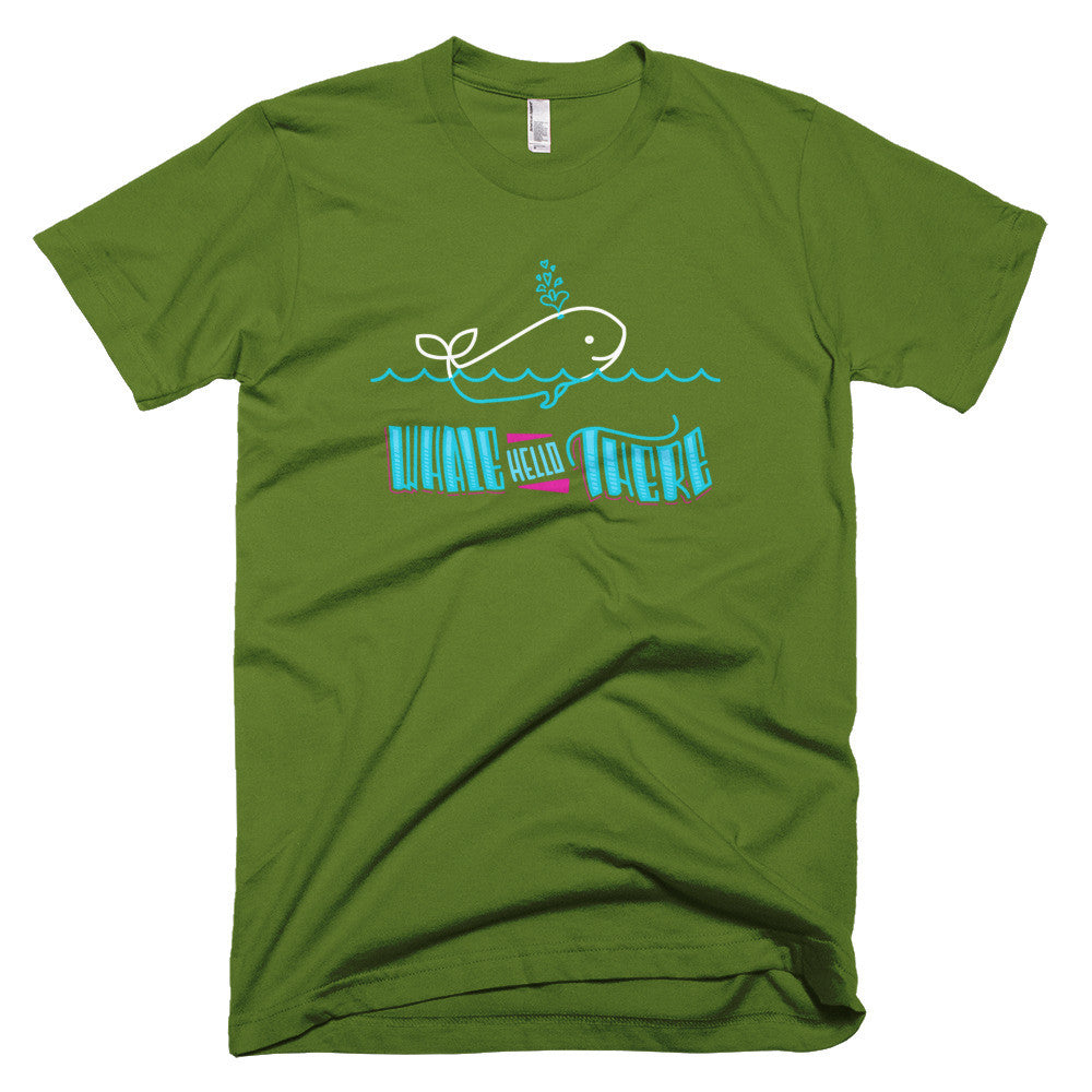 Men's t-shirt  -- Whale Hello There