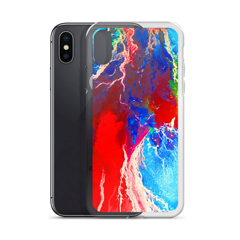 Water color Abstract 2 -iPhone Case