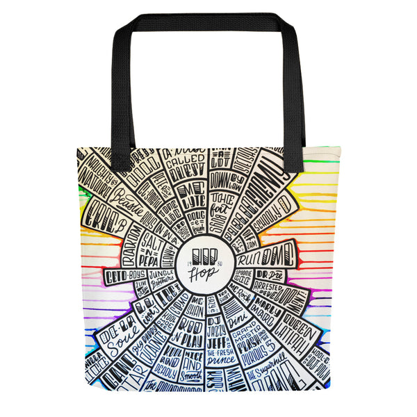 Hip-Hop - Type design - Tote bag