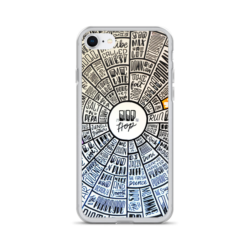 Hip-Hop - type design - iPhone Case - All sizes available