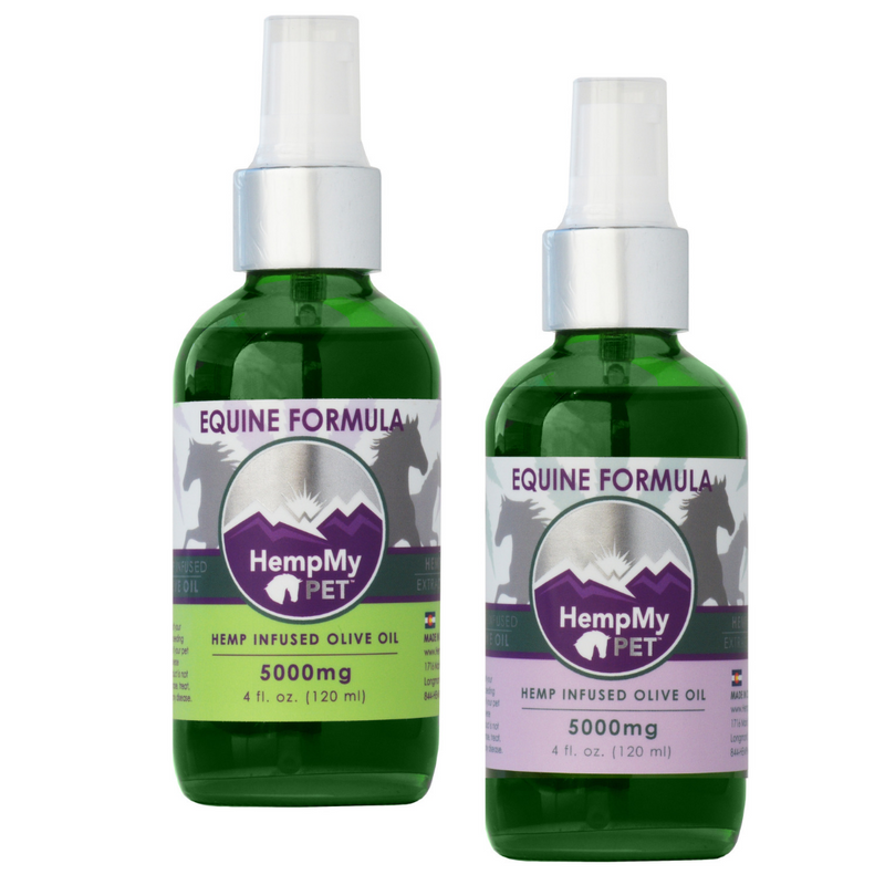 EQUINE - Organic Olive Oil Infused with Full Spectrum Hemp (CBD)