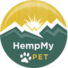 HempMy Pet Logo Pawprint Mountains