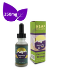 A. Certified Organic Hemp Seed Oil Infused with Organically Grown Colorado CBD Hemp Extract - 250mg (1 fl. oz. bottle)