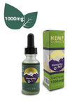 Certified Organic Hemp Seed Oil Infused with Organically Grown Colorado CBD Hemp Extract - 1000mg (1 fl. oz. bottle)