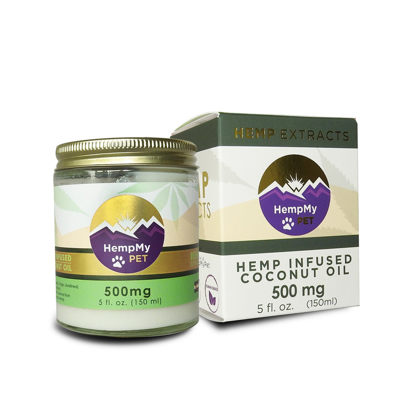 D. Certified Organic Coconut Oil Infused with Organically Grown Colorado Hemp Extract - 500mg (5 fl. oz. jar)