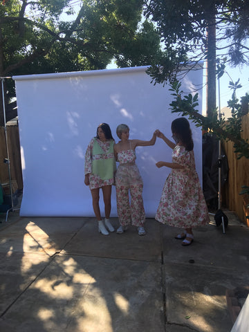 Photo Shoot for 323 Clothing Brand Spring 2020 Collection
