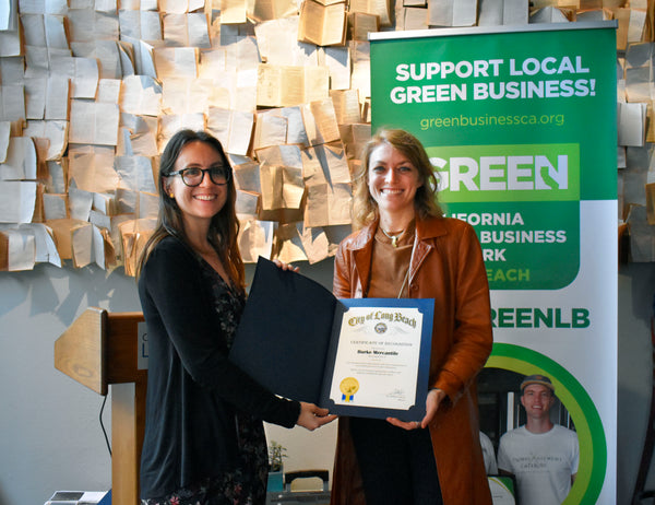 Burke Mercantile Green Business Certification