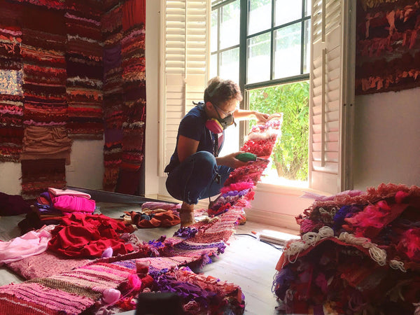 Molly Sydnor Fiber Art Installation