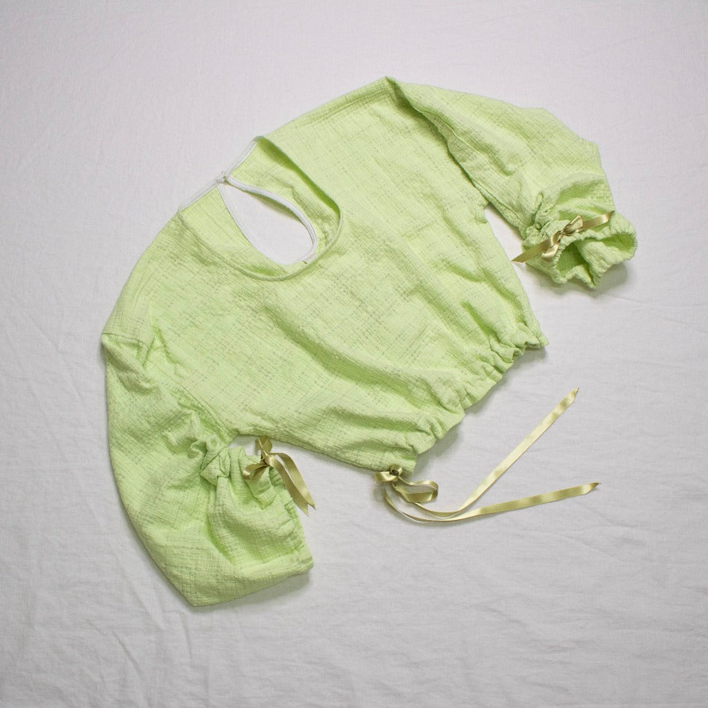 Yessenya Daydream Blouse Honeydew Cotton
