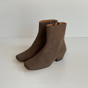 About Arianne Jules Vegan Charcoal Boot