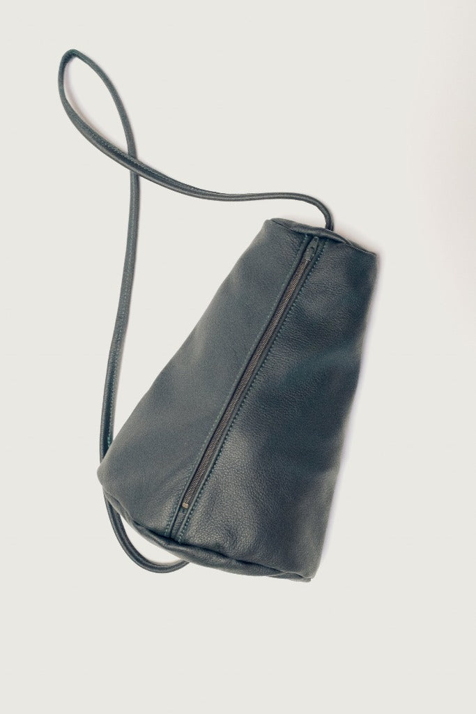 Hannah Emile Prisma Sling Bag Jade Leather