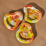 Locus of Occult Cairoli Mini Tray Tangerine Tie Dye