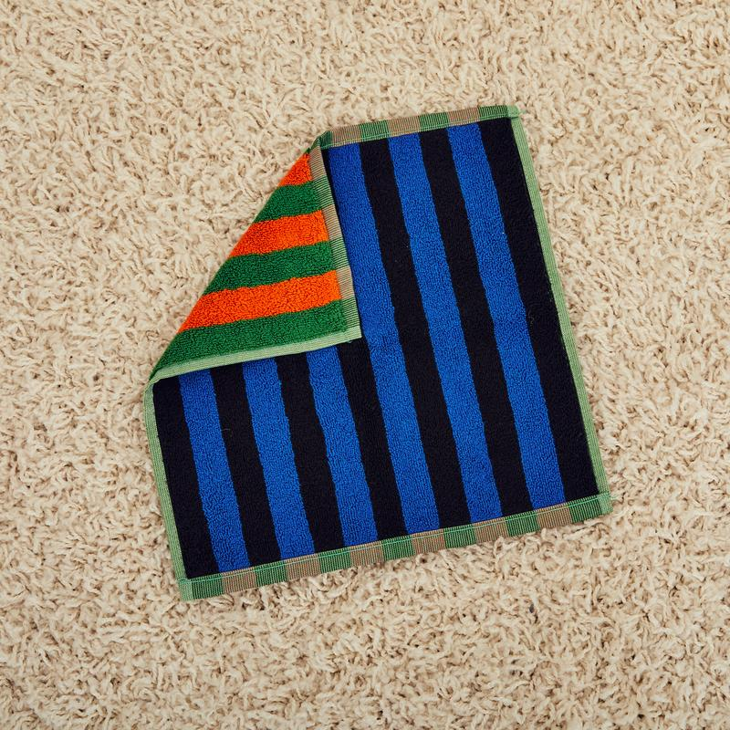 Dusen Dusen Dahlia Stripe Washcloth