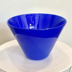 Cedric Mitchell Design Masai Glass Bowl Azul