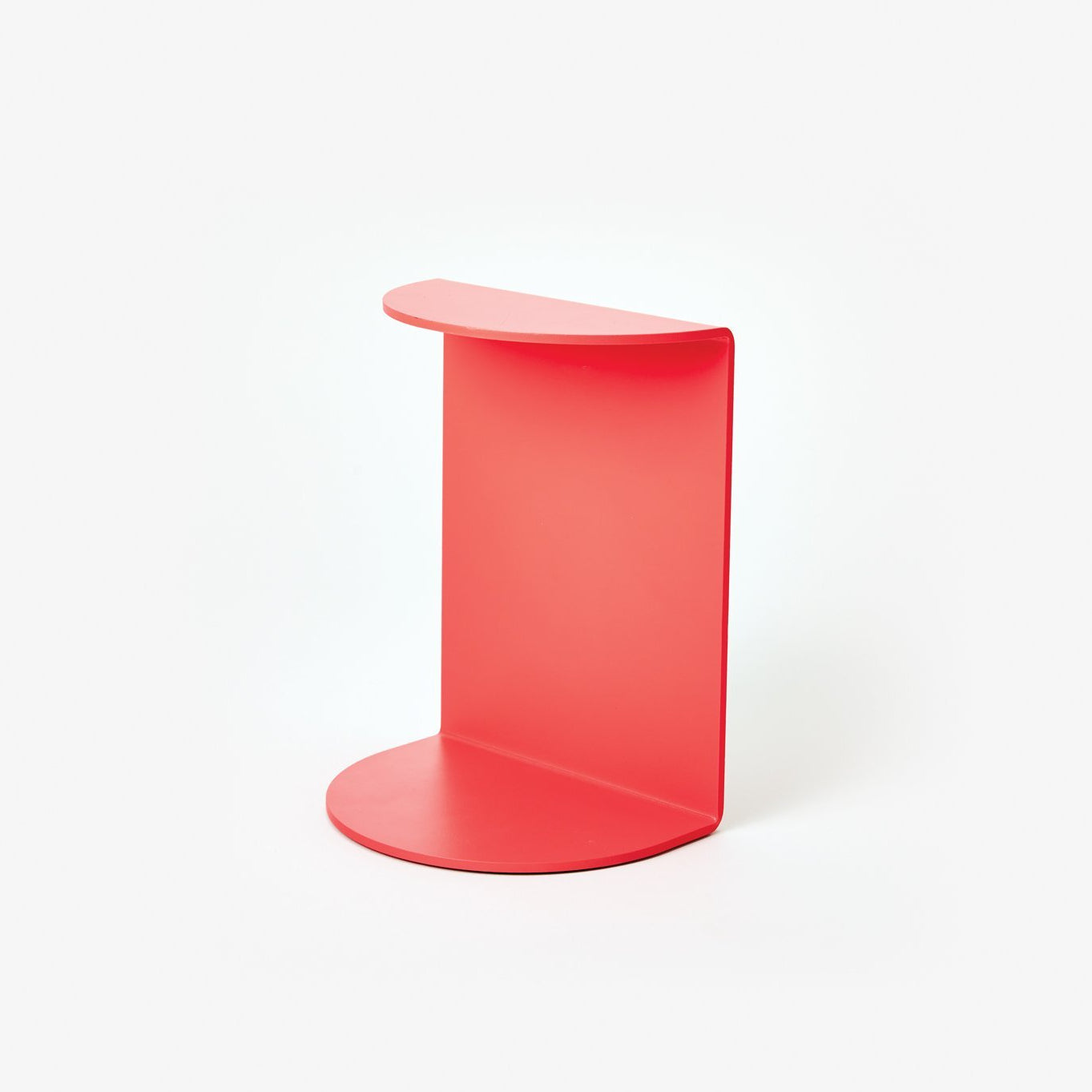 Areaware Reference Bookend Red Powder Coated Iron by Henry Julier
