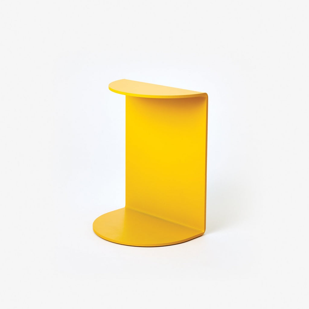 Areaware Reference Bookend Yellow Powder Coated Iron by Henry Julier