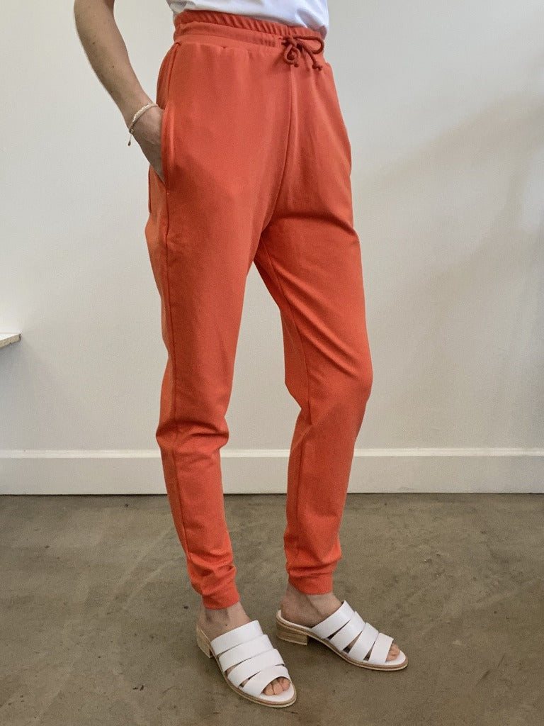 Trish Sweatpants Poppy Red