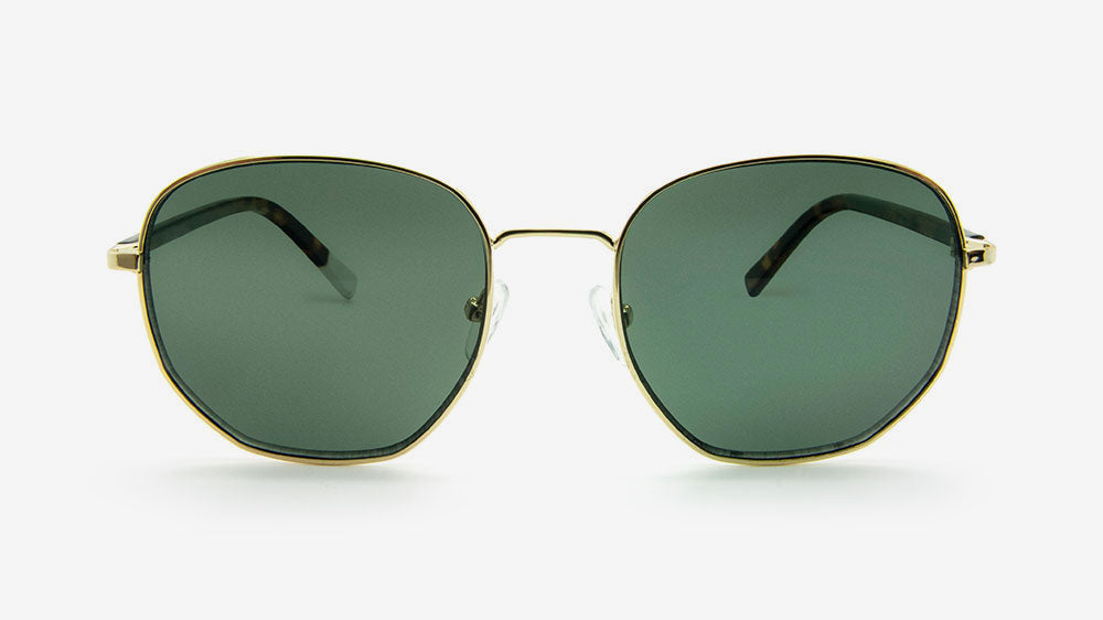 Pala Eyewear Rudo Unisex Sunglasses Polished Gold Metal
