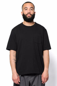 Short Sleeve Pocket Tee Black