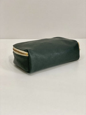 Erin Templeton Kiss and Makeup Forest Leather Pouch