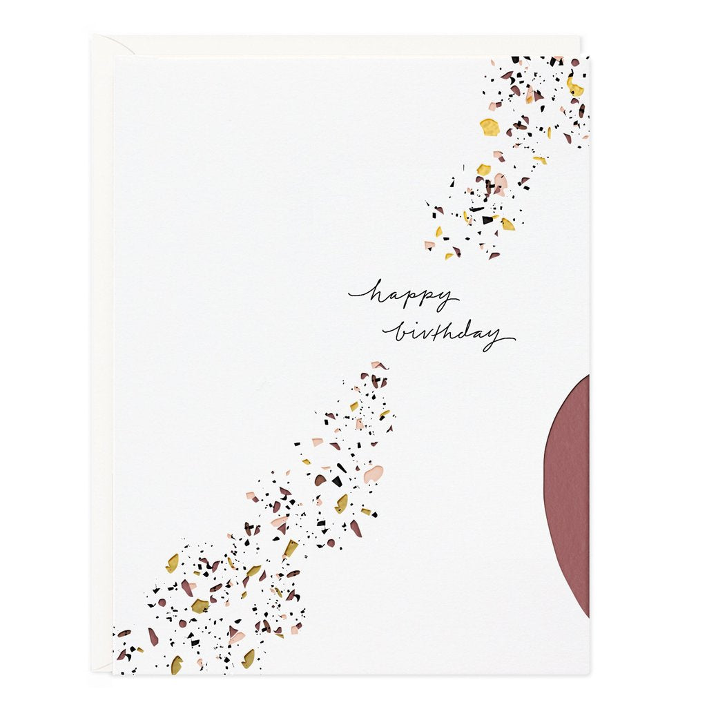 Ramona and Ruth Happy Birthday Confetti Greeting Card