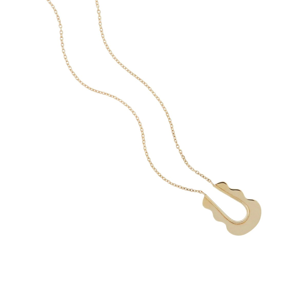 Artifacts NYC Mirage Necklace Brass