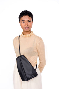 Prisma Sling Bag Ink Leather