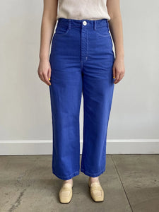 Gravel and Gold x Burke Mercantile exclusive cornflower Placer Pant