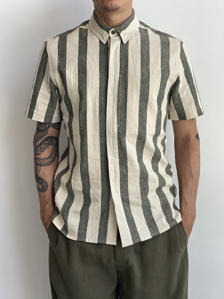 Short Sleeve Side Pocket Shirt