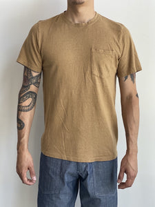 Jungmaven Unisex Baja Pocket Tee Coyote Hemp Organic Cotton