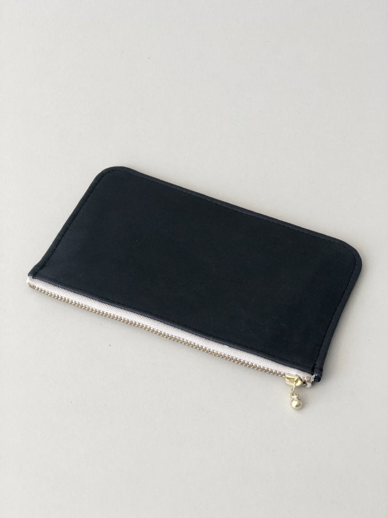 Erin Templeton Time for a Change Wallet Black Leather Pouch
