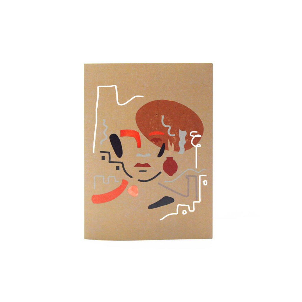 Aya Paper Co Abstract Illustration Greeting Card