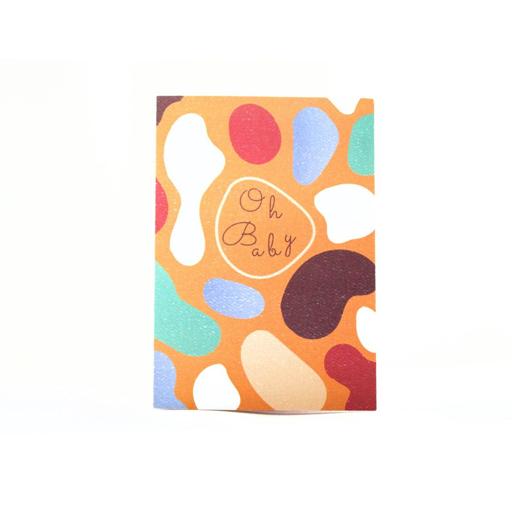 Aya Paper Co Oh Baby Greeting Card