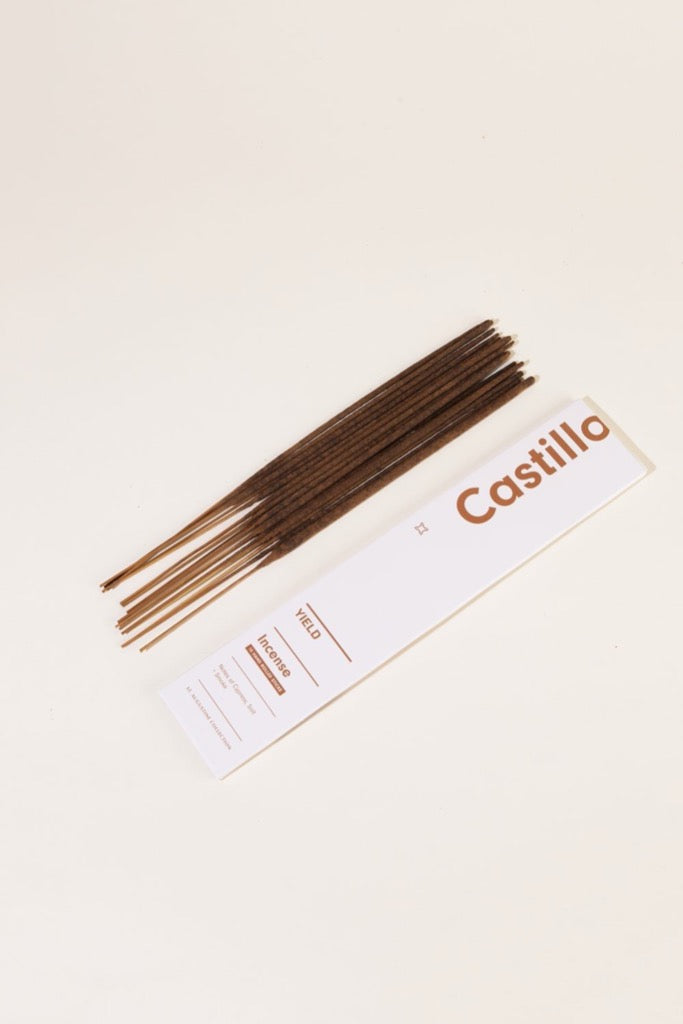 Yield Design Co Castillo Incense Sticks