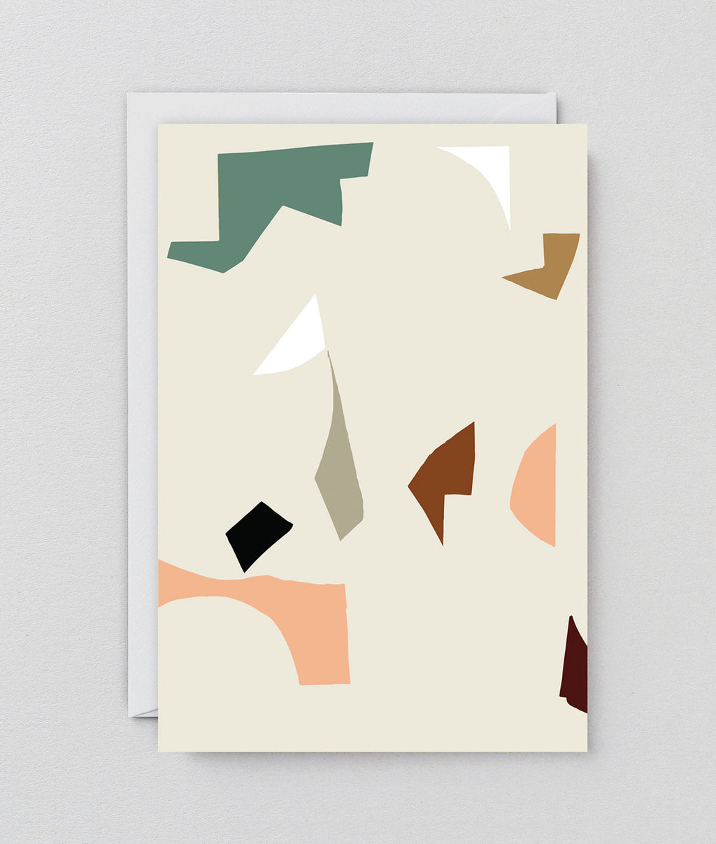 Antti Kekki Abstract Art Greeting Card