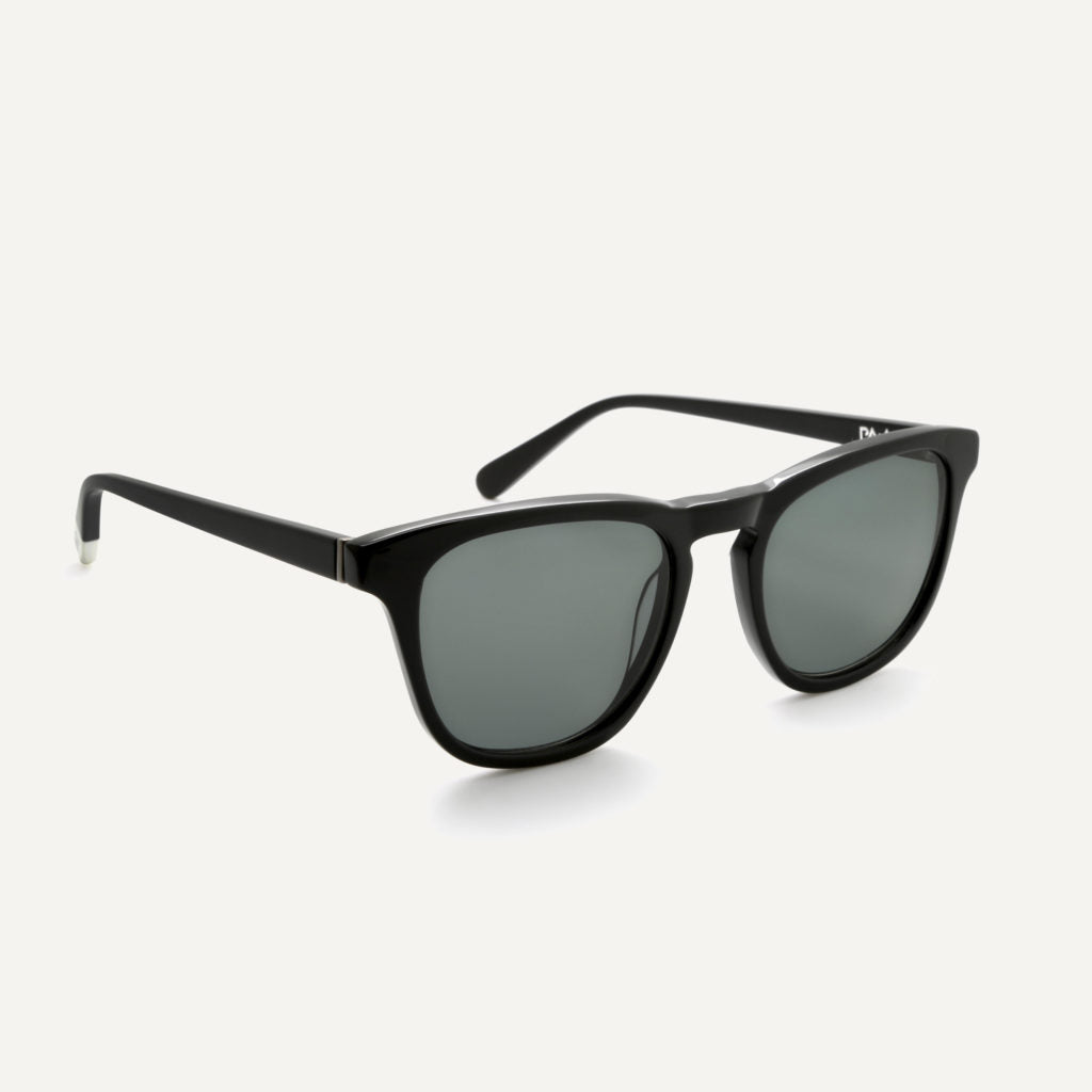 Pala Eyewear Nyota Unisex Biodegradable Sunglasses Black