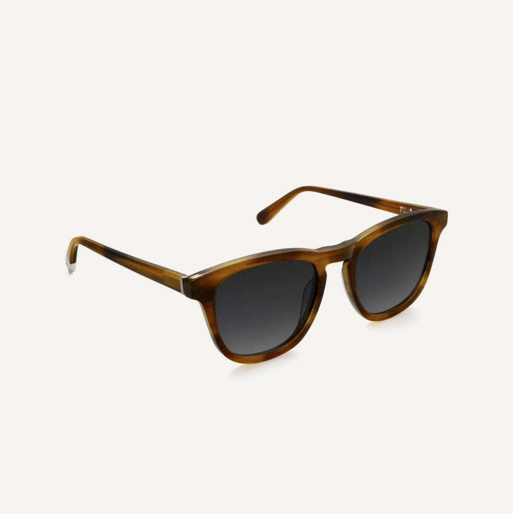 Pala Eyewear Nyota Unisex Biodegradable Sunglasses Walnut Brown